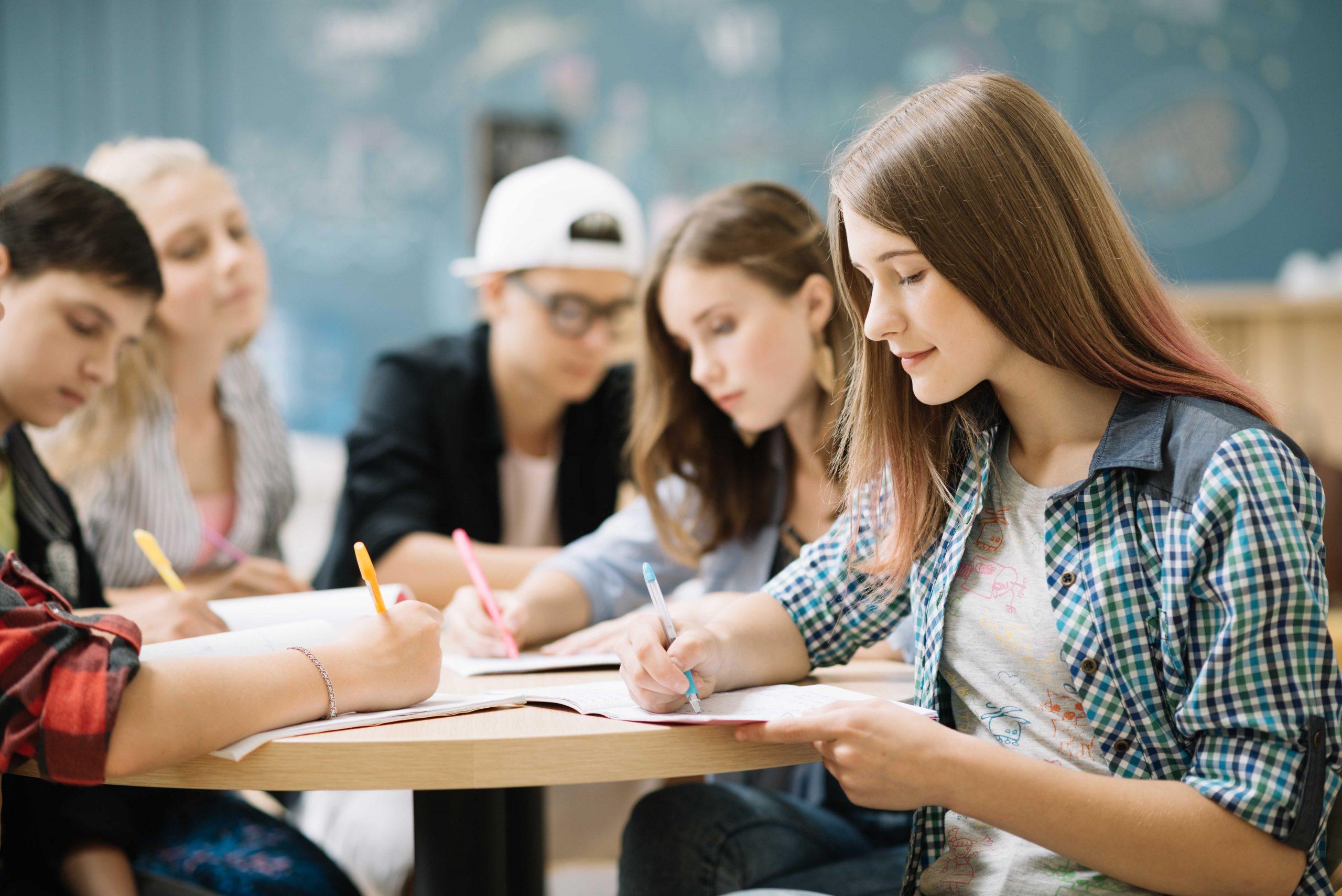 magyar érettségi felkészítő tanterem
